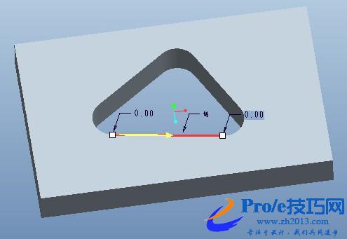 proe复制曲线边