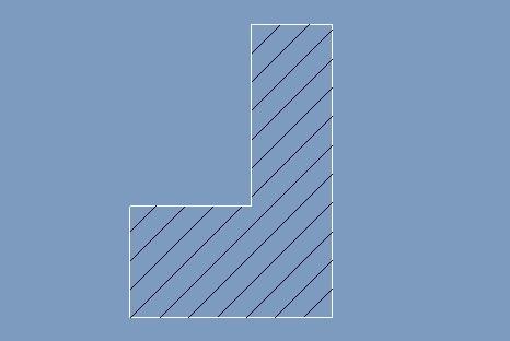 proe绘制塑料剖面线