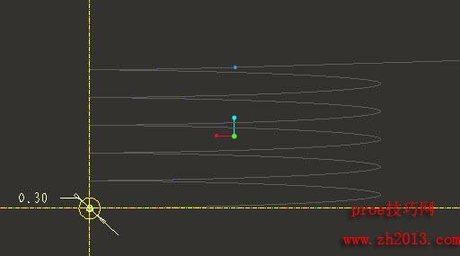 两步完成一个proe扭转弹簧建模教程