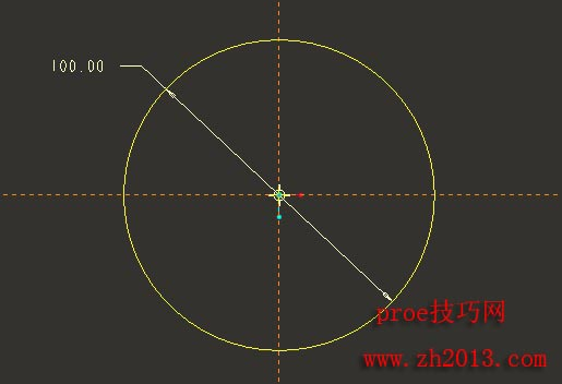 碟子的proe建模图文教程(trajpar函数与正弦函数的使用)