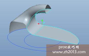 proe曲面设计的实例教程 墙壁粘钩建模