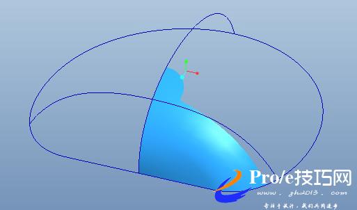 珍珠贝壳proe实例建模图文教程
