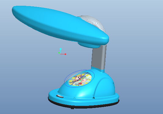 Proe5.0小台灯建模教程_Proe小台灯3D模型免费下载