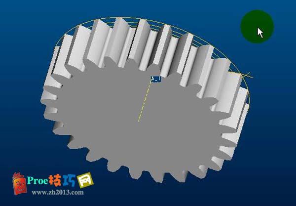 proe柱形直齿轮的标准创建模视频教程