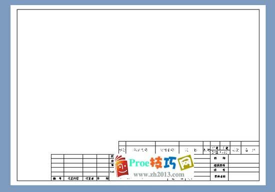 Proe工程图打印预览的运用和设置方法_Proe工程图教程