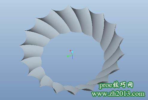proe可变截面扫描vss与关系式结合的类似碟子建模教程
