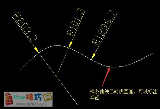 AutoCAD如何将样条曲线转换成圆弧