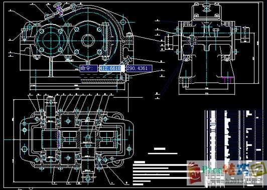 图纸减速器Cad技巧库_Cad图纸练习-proe齿轮v图纸ug下载下载图纸图片