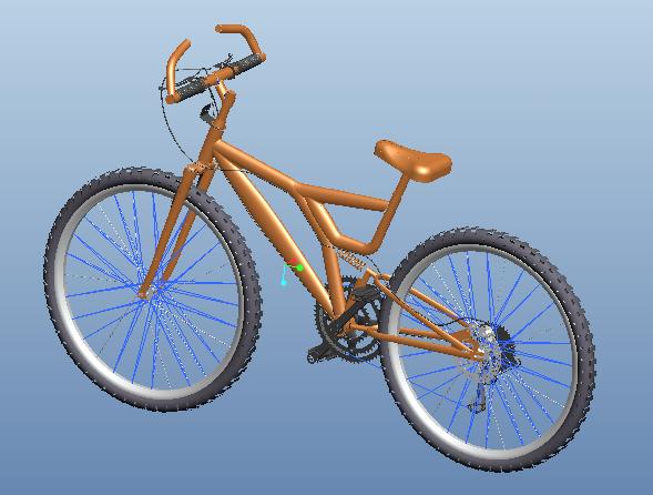 超详细,超逼真的自行车模型,由Proe5.0建模而成,是个装配组件文件,此模型在本站提供免费下载。此作品仅供学习参考,请勿商业使用。 模型版本:Proe5.0 文件格式: asm 文件大小:35.4M