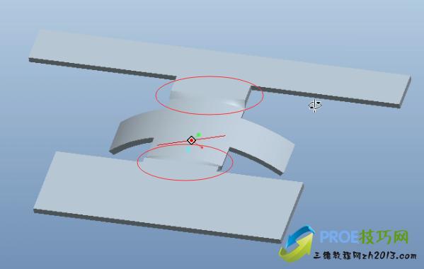 带有转接区的折弯操作方法
