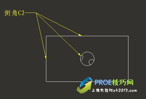 PROE工程图如何一个注释多条引线?