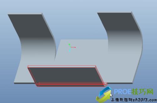 PROE5.0钣金折弯线自动调整(关系式的使用)