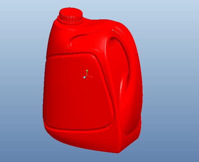 proe机油瓶模型免费下载
