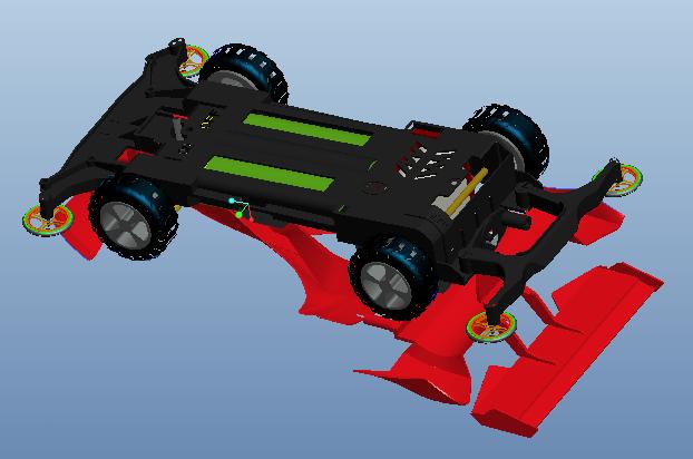 proe玩具赛车模型下载