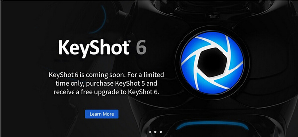 keyshot6震撼发布,keyshot6免费下载(含Creo插件)